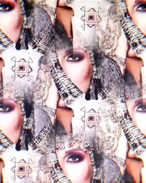 Bellydancer Aysha Aimee, dando corpo à Lua Negra Lilith em Touro