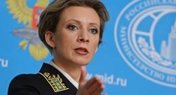 Maria Zakharova – Porta-voz do Ministério das Relações Exteriores RU