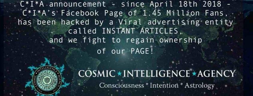 Cosmic Intelligence Agency Astrology